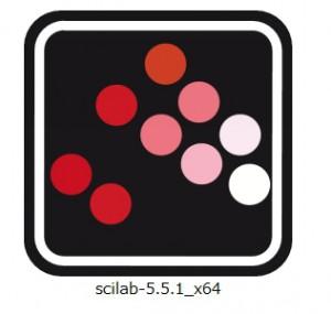 scilab ダウンロードアイコン